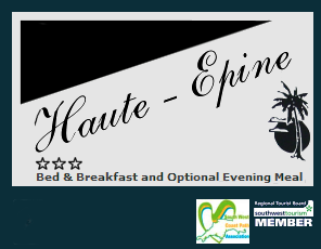 Breakfast and Dining at Haute Epine Guest House Torquay
